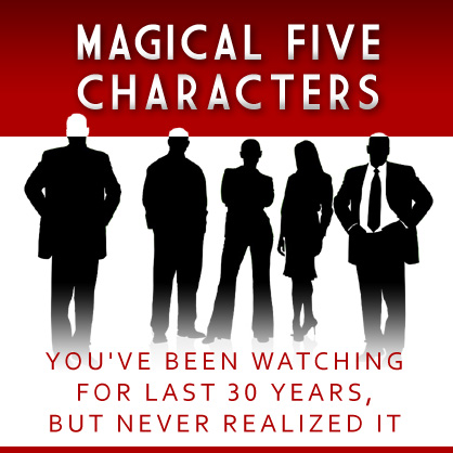 Magical 5 characters